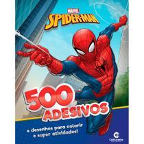 Livro - 500 ADESIVOS MARVEL HOMEM-ARANHA -
