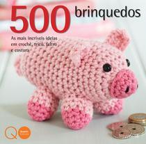 Livro - 500 brinquedos -