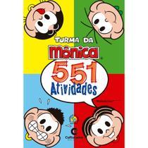 Livro - 551 ATIVIDADES TURMA DA MONICA -