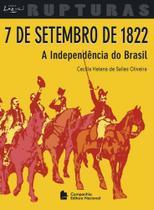 Livro - 7 de Setembro de 1822 - A independência do Brasil -