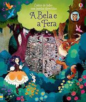 Livro - A Bela e a fera : Contos de fadas com janelas divertidas -