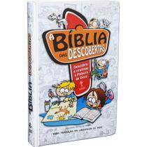 Livro - A Bíblia das Descobertas - Capa ilustrada azul -