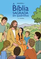 Livro - A Bíblia Sagrada Em Quadrinhos -
