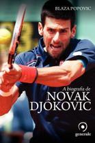 Livro - A biografia de Novak Djokovic -