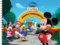 Livro - A casa do Mickey Mouse - jogos e passatempos -