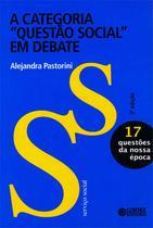 """Livro - A categoria """"Questão Social"""" em debate -"""