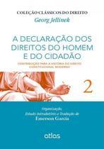 Livro - A Declaração Dos Direitos Do Homem E Do Cidadão Contribuição Para A Hist Do Dto Const Moderno - V. 2 -