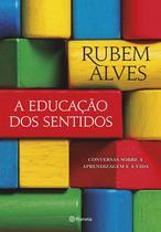 Livro - A educação dos sentidos -