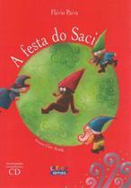 Livro - A festa do Saci -