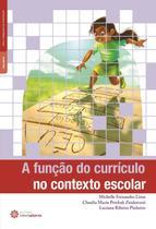 Livro - A função do currículo no contexto escolar -