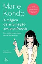 Livro - A mágica da arrumação em quadrinhos -