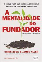 Livro - A mentalidade do fundador -