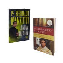 Livro a nova batalha + 10 respostas que vão mudar sua vida - padre reginaldo manzotti - Petra