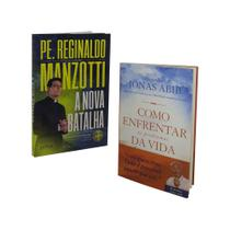 Livro a nova batalha padre reginaldo manzotti + como enfrentar os problemas da vida intima - Petra
