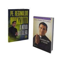 Livro a nova batalha padre reginaldo manzotti + ensina-me a rezar de padre juarez de castro - Petra