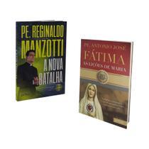 Livro a nova batalha padre reginaldo manzotti + fatima, as lições de maria - Petra