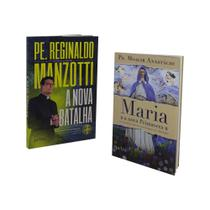 Livro a nova batalha padre reginaldo manzotti + maria a nova primavera - Petra
