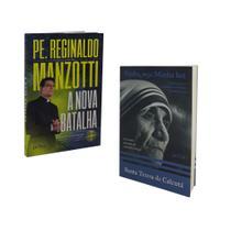 Livro a nova batalha padre reginaldo manzotti + venha, seja minha luz santa teresa de calcutá - Petra