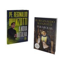 Livro a nova batalha + parabolas - padre reginaldo manzotti - Petra