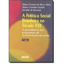 Livro - A política social brasileira no século XXI -
