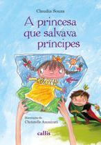 Livro - A princesa que salvava principes -