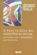 Livro - A psicologia na assistência social -