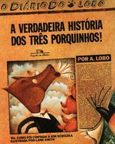 Livro - A verdadeira história dos três porquinhos -