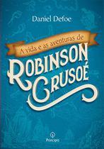 Livro - A vida e as aventuras de Robinson Crusoé -