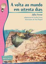Livro - A volta ao mundo em oitenta dias -