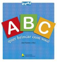 Livro - ABC que brincar com você -
