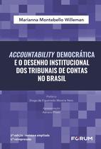 Livro - Accountability Democrática e o desenho institucional dos tribunais de contas no brasil -