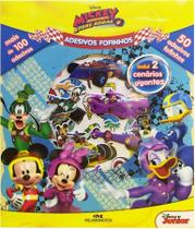 Livro - Adesivos Fofinhos – Mickey Aventuras Sobre Rodas -