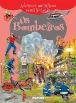 Livro - Adesivos metálicos - os bombeiros -