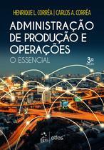 Livro - Administração de Produção e Operações - O Essencial -