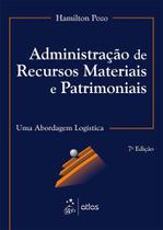 Livro - Administração De Recursos Materiais E Patrimoniais - Uma Abordagem Logística -