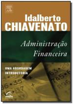 Livro - Administração financeira: Uma abordagem introdutória - Campus