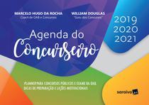 Livro - Agenda do concurseiro - 1ª edição de 2019 -