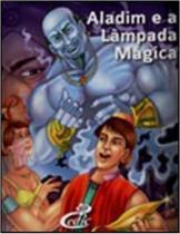 Livro aladim e a lâmpada mágica + dvd - cedic - Editora Cedic
