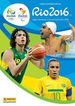 Livro - Álbum Jogos Olímpicos Rio 2016 (Capa Dura) com 10 Envelopes -