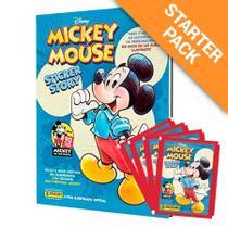 Livro - Álbum Mickey 90 Anos (capa Dura) Com 12 Envelopes -