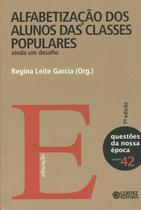Livro - Alfabetização dos alunos das classes populares -
