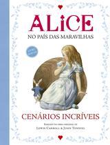Livro - Alice no país das maravilhas -