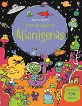 Livro - Alienígenas : Livro de adesivos -