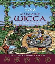 Livro - Almanaque Wicca 2018 -