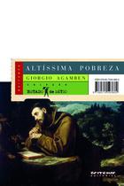 Livro - Altíssima pobreza -