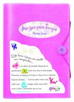 Livro - Amigas para sempre (capa rosa) -