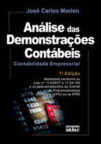 Livro - Análise Das Demonstrações Contábeis: Contabilidade Empresarial -
