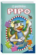 Livro - Animais da fazenda em quebra-cabeças: O patinho Pipo -