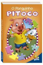 Livro - Animais da fazenda em quebra-cabeças: O porquinho Pitoco -
