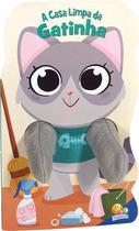Livro - Animais dedoches III: A casa limpa da gatinha -